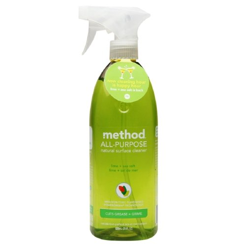 method All-Purpose Surface Cleaner, Lime & Sea Salt 28 oz(Pack of 2)