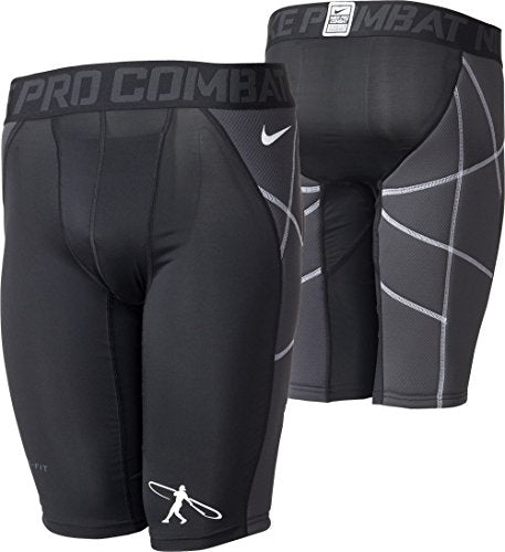 Nike Boys Pro Hyperstrong Swingman Heist Slider-Compression Baseball Shorts