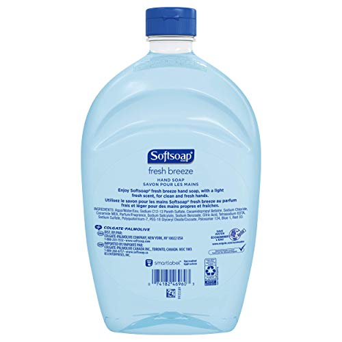 Softsoap Liquid Hand Soap Refill, Fresh Breeze - 50 oz