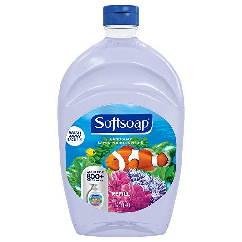 Softsoap Liquid Hand Soap Refill, Aquarium Series, 50 Fl Oz