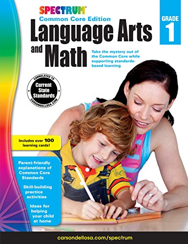 Carson Dellosa Spectrum Common Core Edition Language Arts and Math