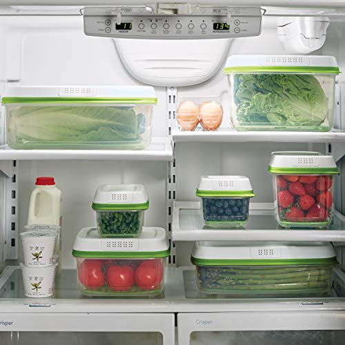Rubbermaid FreshWorks Produce Saver Food Storage Container,