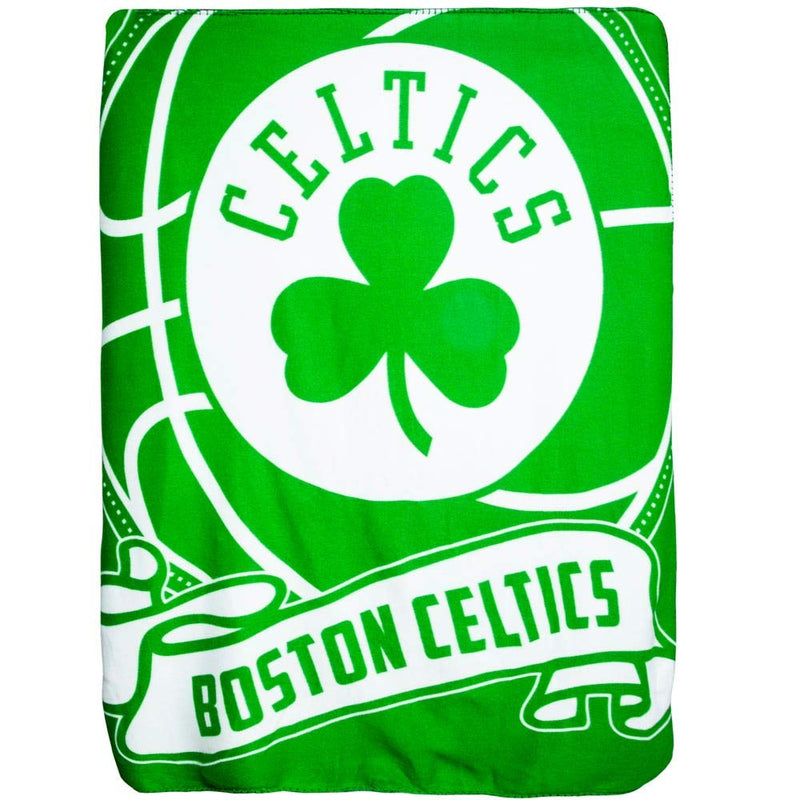 "Northwest The Company Boston Celtics Fleece Throw Blanket 40"" x 50""..."