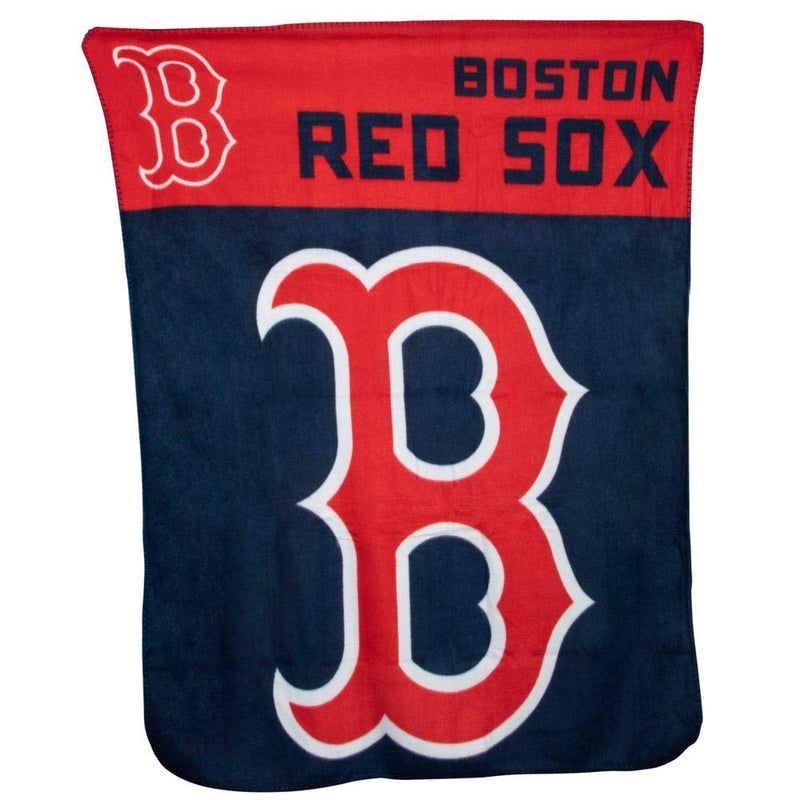 "Northwest Boston Red Sox Fleece Throw Blanket 40"" x 50"""