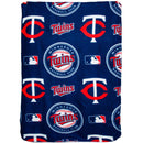 The Northwest Company Minnesota Twins Officially Licensed Fleece Throw Blanket 40in x 50in