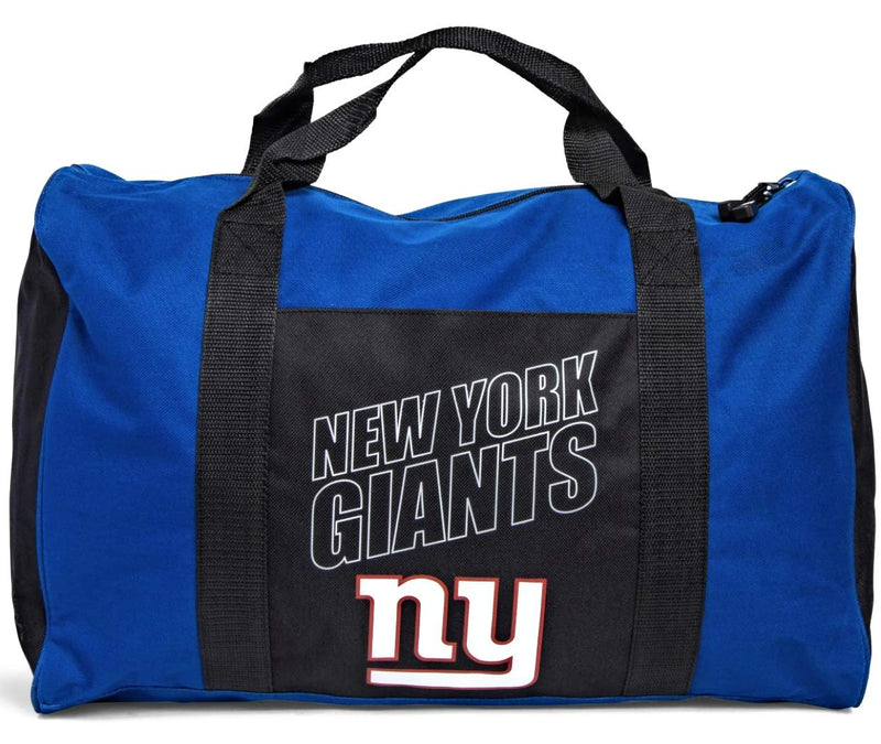 THE NORTHWEST COMPANY New York Giants Duffel Gym Travel Bag