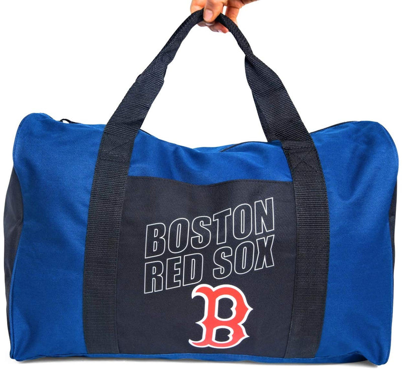 THE NORTHWEST COMPANY Boston Red Sox Duffel Gym Travel Carryon Bag