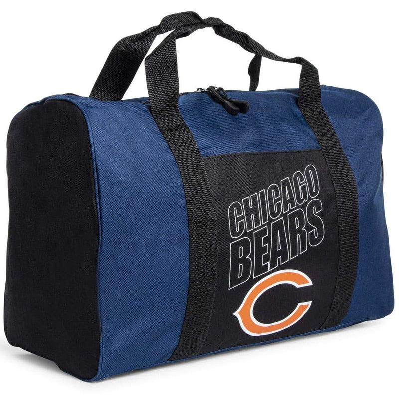 Chicago Bears Small Duffle Carry-on Bag (18in x 12in)