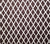 China Seas Fabric Lyford Diamond Blotch Custom Brown bamboo trellis print on White Belgian Linen/Cotton