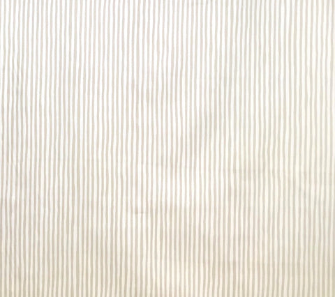 China Seas Fabric: Island Stripe - Tan on Cream 100% Cotton