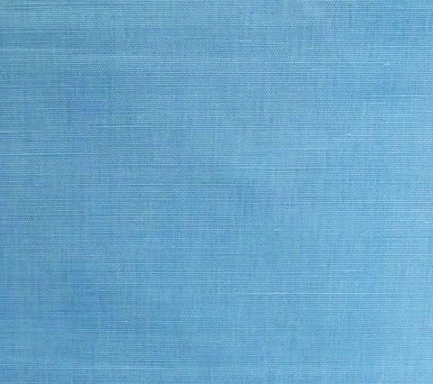 China Seas Fabric Bahama Cloth Custom Solid Aqua Turquoise Pale Blue on Belgian Linen Cotton