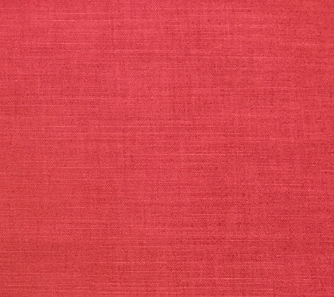 China Seas Fabric: Bahama Cloth - Custom Dark Coral on Belgian Linen/Cotton