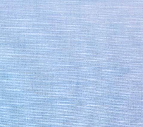 China Seas Fabric: Bahama Cloth - Custom St. Giles Blue on Belgian Linen/Cotton
