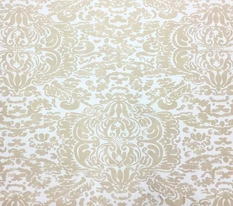 China Seas Fabric: San Marco - Custom Greige on Tinted Belgian Linen/Cotton