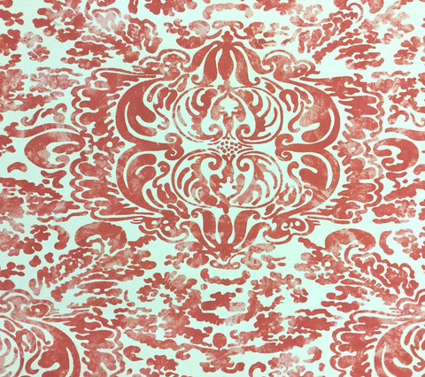 China Seas Wallpaper: San Marco - Custom Wildflower on Off White Paper
