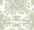 China Seas Wallpaper: Sigourney - Custom Soft Fern Green on White Paper