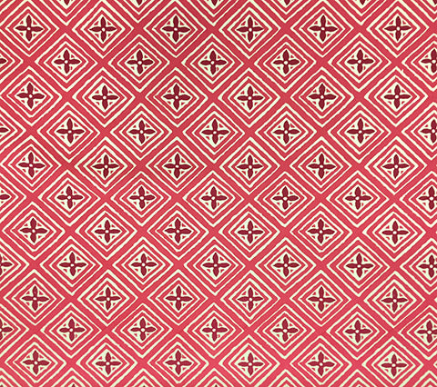 China Seas Fabric: Fiorentina Two Color - Custom Fuchsia / Magenta on Vellum Suncloth