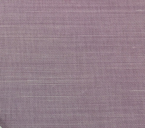 China Seas Fabric Bahama Cloth Custom Solid Lilac on Belgian Linen Cotton