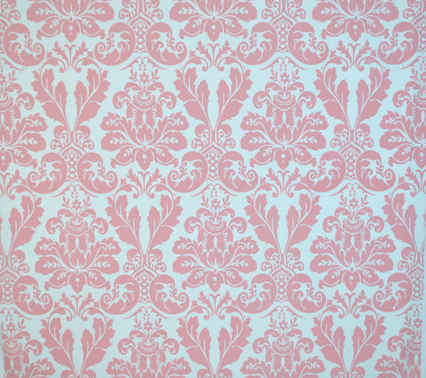 Quadrille Fabric: Monty - Custom Rose on White Suncloth