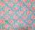 China Seas Fabric: Trilby - Custom Light Blue / Light Pink on 100% Belgian Linen