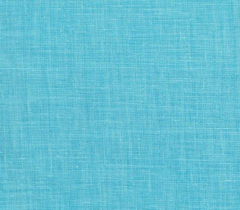 China Seas: Parchment Cloth - Custom Venice Blue solid print on 100% Belgian Linen