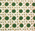 China Seas Wallpaper: Club Cane - Custom Creams on Herb Garden Green detail