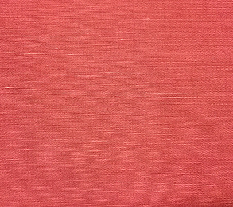 China Seas Fabric Bahama Cloth Custom Solid Magenta on Belgian Linen Cotton