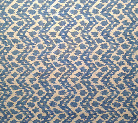 China Seas Fabric: Zizi Vertical - Custom French Blue