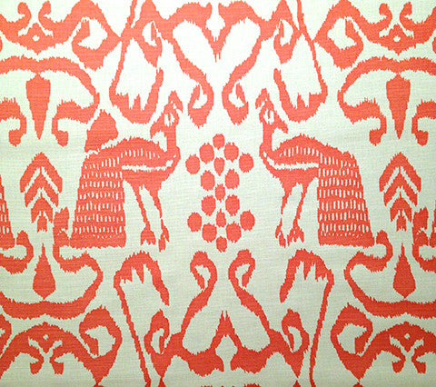 China Seas Fabric: Bali Isle - Custom Salmon on Tint