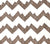 Alan Campbell Fabric: Mojave Zig Zag - Custom Multi Brown on White Belgian Linen/Cotton