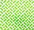 China Seas Wallpaper: Edo II - Custom Grass Green on White Vinyl
