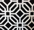 Home Couture Fabric: Labyrinth - Custom Black on White 100% Belgian Linen