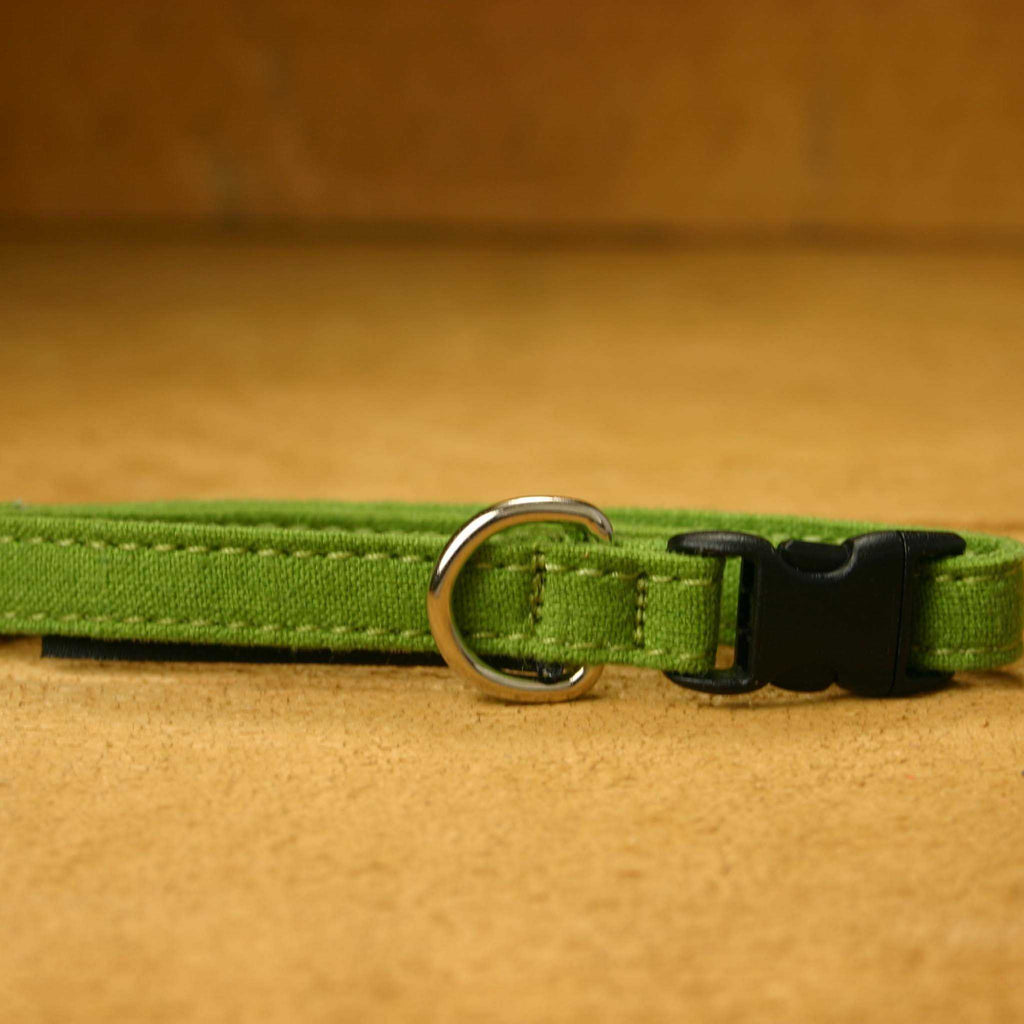 Hemp Cat Collar Avocado