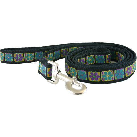 Hemp Dog Leash Flowerama