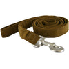 Hemp Corduroy 6' Dog Leash Bronze