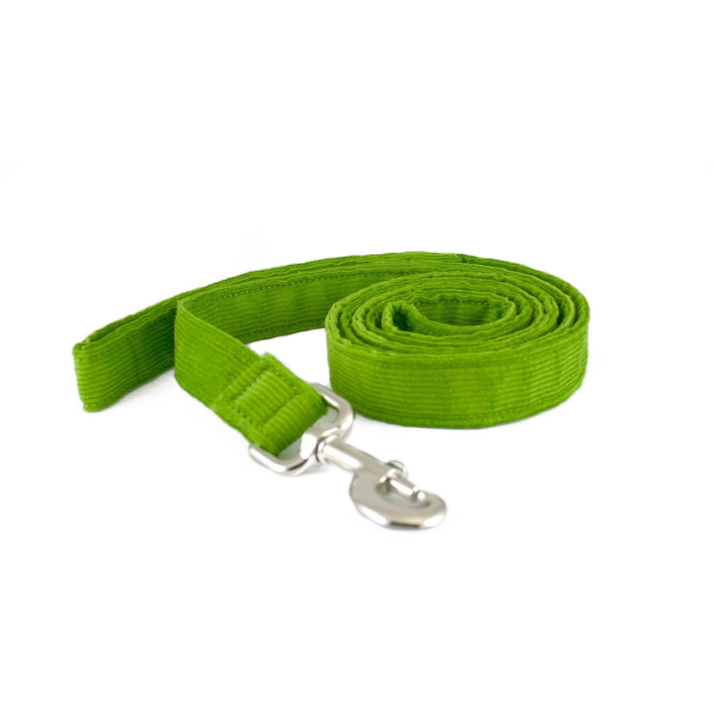 Hemp Corduroy 6' Dog Leash Avocado