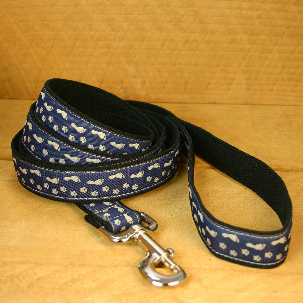Hemp Dog Leash 6' BFF Blue