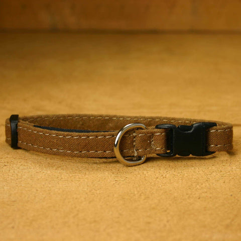 Cat Collar Bronze Hemp