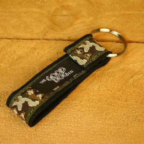 Camo Key Chain | The Good Dog Company