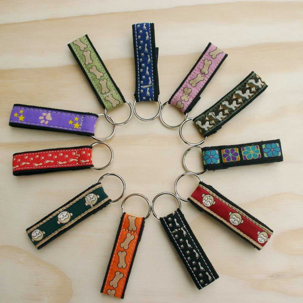Hemp Key Chain Assorted