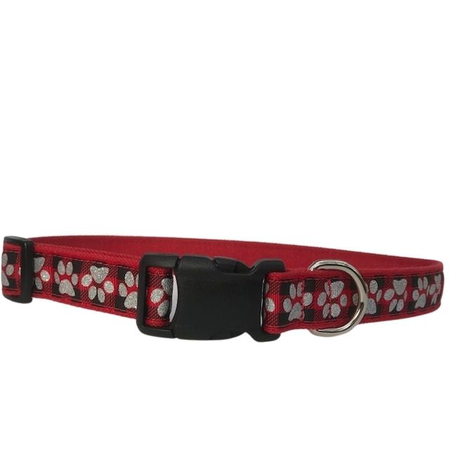 Holiday Paws Red Dog Collar