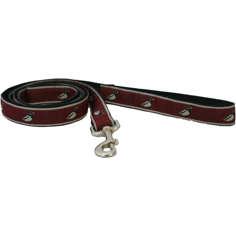 Hemp Dog Collar Crimson Mallard