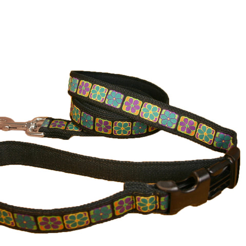 Hemp Flowerama ClickNGo Leash