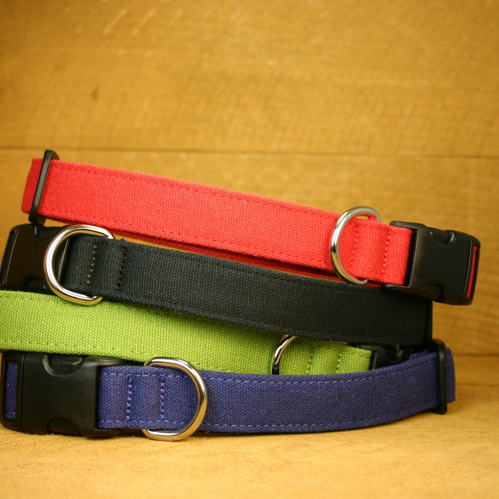 Hemp Dog Collar Basic Assortment