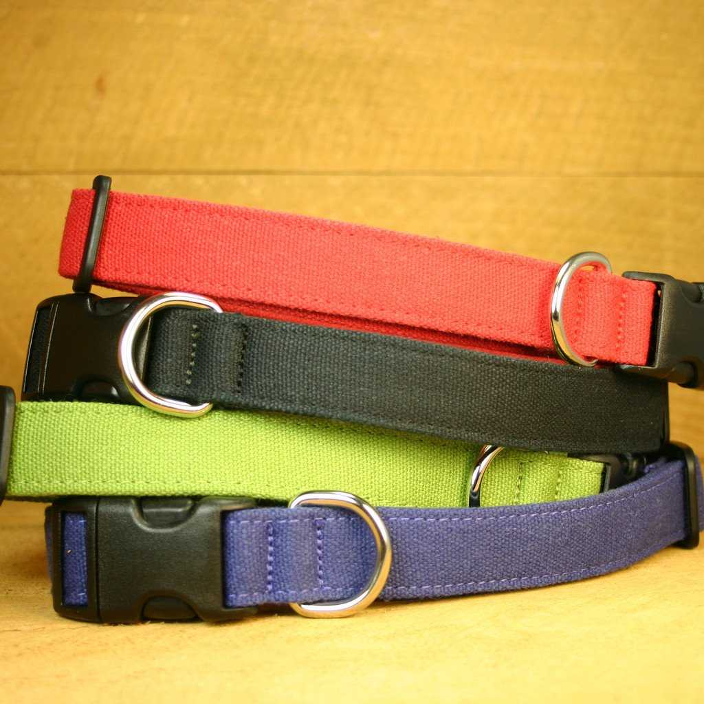 Hemp Dog Collar Basic Collection