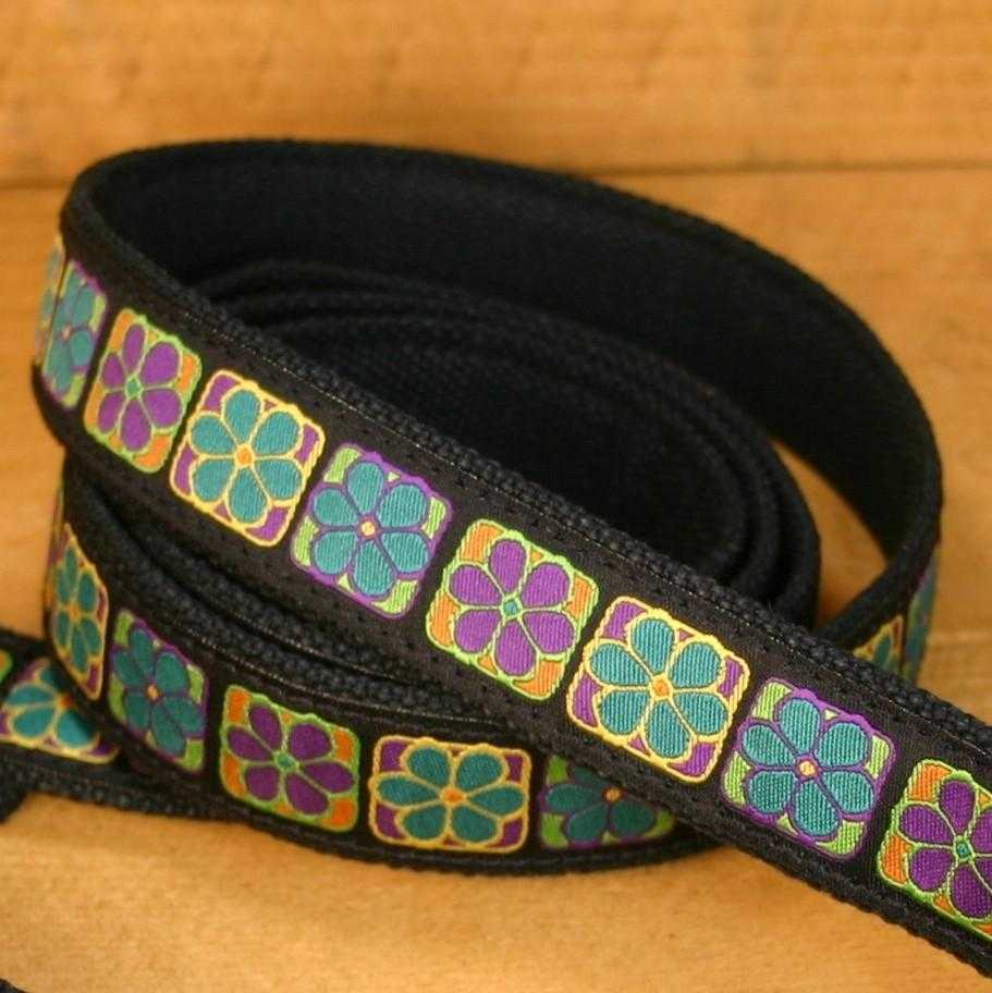 Hemp Dog Leash Flowerama ClickNGo