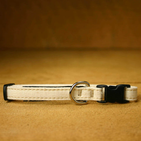 Cat Collar Natural  Hemp