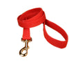 Hemp Dog Leash 6'Red Basic Canvas