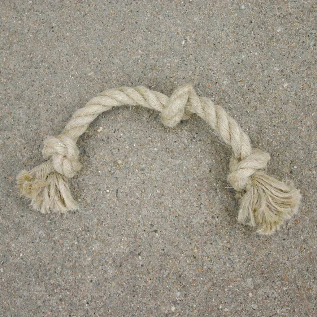 Hemp Rope Toys Triple Knot