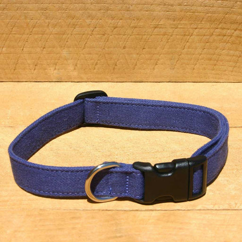 Hemp Basic Blue Collar | The Good Dog Company